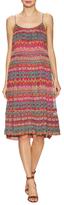 Diane von Furstenberg Franny Silk Print A Line Dress