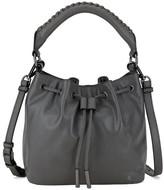 Elliott Lucca Gigi Bon Bon Leather Bucket Bag