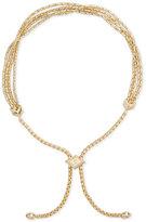 Vera Bradley Rose Gold-Tone Tasseled Slider Bracelet