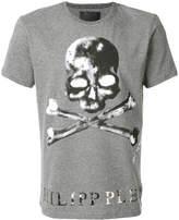 Philipp Plein crossbones print T-shirt