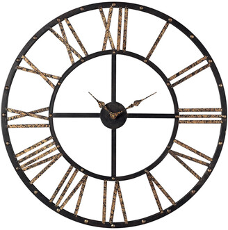 Artistic Home & Lighting Roman Numeral Open Back Wall Clock