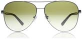 DKNY 5084 Sunglasses Satin Gunmetal Dark Tortoise 123413