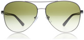DKNY DY5084 Sunglasses Satin Gunmetal / Tortoise 123413 61mm