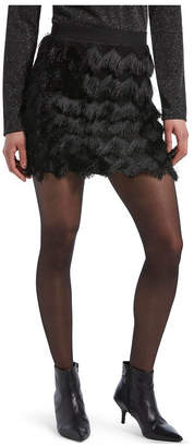 Hue Women Graduated Compression with French Lace Pantyhose Sheers