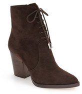 Marc Fisher Women's Aaliyah Pointy Toe Lace-Up Bootie
