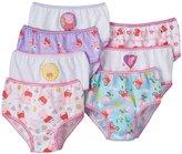Peppa Pig Little Big Girls Bikini Panties Pack of 7 Underwear