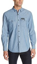 U.S. Polo Assn. Men's Solid Canvas Sport Shirt