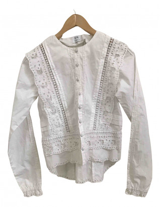 SIR the Label White Cotton Tops