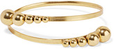Elizabeth Cole Stellan gold-plated bracelet