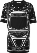 Givenchy geometric print T-shirt