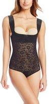 Rago Women's Extra Firm Perky Lift Breast Shaper Bodysuit