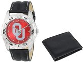 """Game Time Men's COL-WWS-OK """"Watch & Wallet"""" Watch - Oklahoma"""