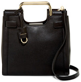 Louise et Cie Elay Snake Embossed Leather Small Tote