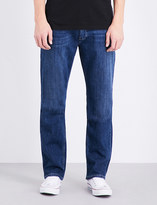 Paige Normandie mid-rise straight jeans
