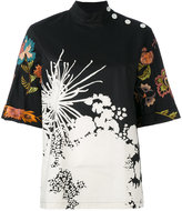 Dries Van Noten floral blouse