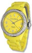 Haurex Italy Women's PY360DY1 Monte Carlo Double Crystal Bezel Ring Luminous Watch