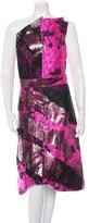 Bottega Veneta Silk-Jacquard Evening Dress w/ Tags