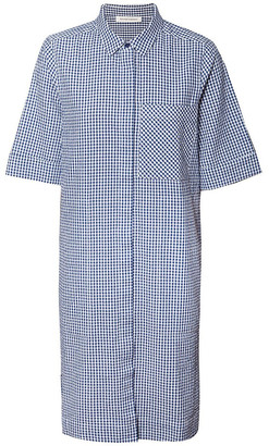 Skin and Threads Cotton Gingham Shirt Dress