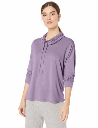 N Natori Women's French Terry Knit Pullover