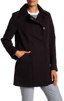 Eliza J Floral Jacquard Coat