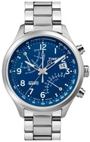 Men's Timex 'Intelligent Quartz' Fly-Back Chronograph Watch, 43Mm