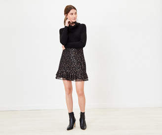 Oasis STAR LACE FLIPPY SKIRT