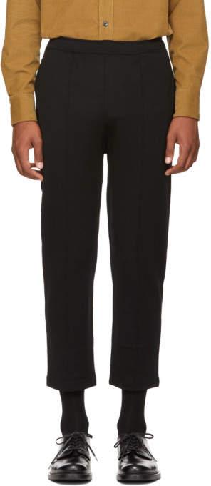 Prada Black Drawstring Lounge Pants