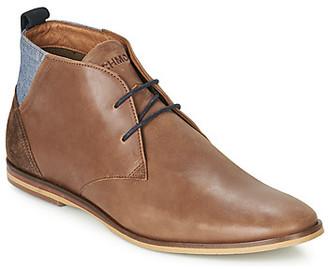 Schmoove SWAN-DESERT men's Mid Boots in Brown