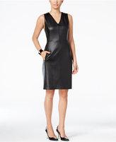 Thalia Sodi Textured Sheath Dress, Only at Macy's