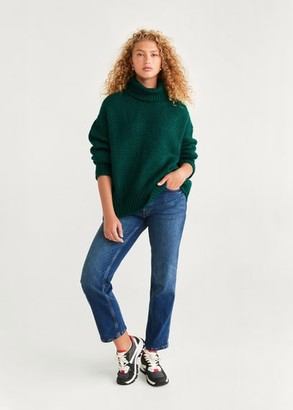 MANGO Turtleneck knit sweater