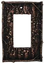 HiEnd Accents Lodge Pine Bark Single Rocker Plate