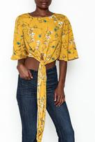 Alythea Floral Tie Top