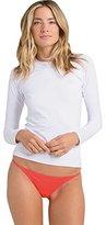 Billabong Women's Core Regular-Fit Long-Sleeve Rashguard