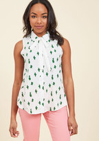 ModCloth Unconventionally Chic Sleeveless Top in 4X