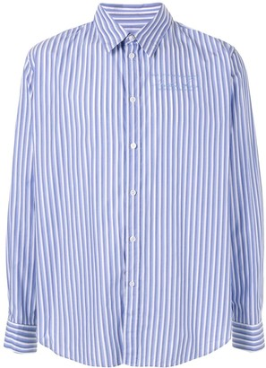 Martine Rose striped fitted shirt