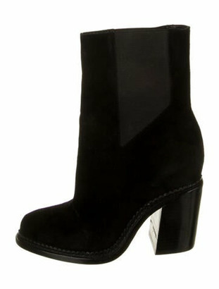 Theyskens' Theory Taylor Suede Boots Black