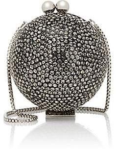 Marzook Women's Crystal Ball Minaudière - Gunmetal
