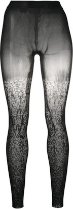Wolford Alexa patterned tights