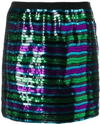 Marc Jacobs Disco sequinned mini skirt