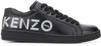 Kenzo Logo-Print Low-Top Trainers