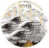 Fornasetti 2015 Calendar Wall Plate
