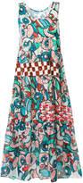 Tsumori Chisato long sleeveless printed dress