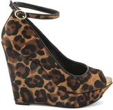 Jessica Simpson Stacys Leopard Wedges