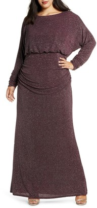 Vince Camuto Dolman Sleeve Gown