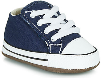 Converse CHUCK TAYLOR FIRST STAR CANVAS HI girls's Shoes (High-top Trainers) in Blue