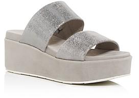 J/Slides Women's Quincy Platform Slide Sandals