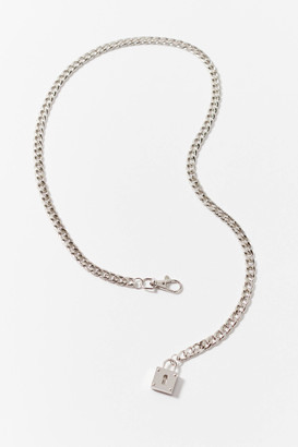 Urban Outfitters Lock Chain Belt