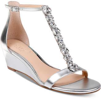 Badgley Mischka Darrell Wedge Sandals Women Shoes