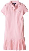 Polo Ralph Lauren Stretch Mesh Polo Dress (Little Kids)