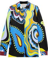 Emilio Pucci Paisley-print Cady Shirt - Yellow